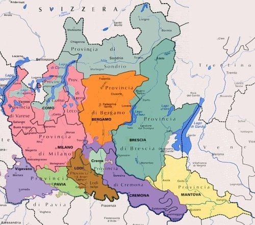 Province Lombardia Cartina.Diocesi Lombarde Agesci Lombardia